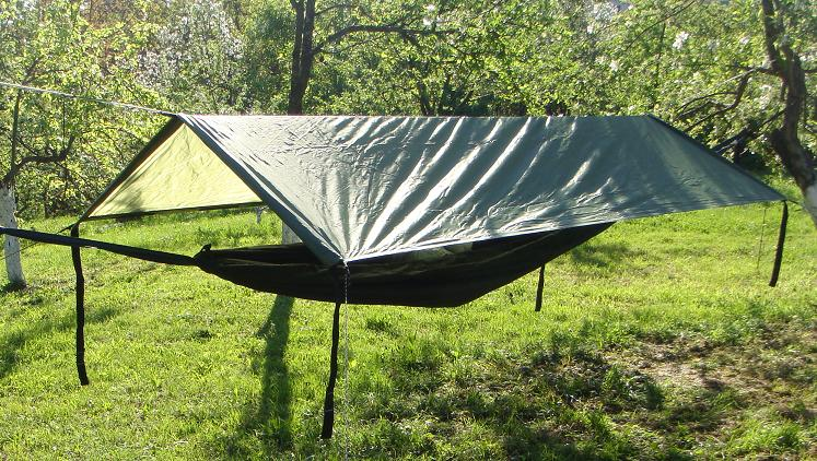 Zip-in Bivi Hammock Black