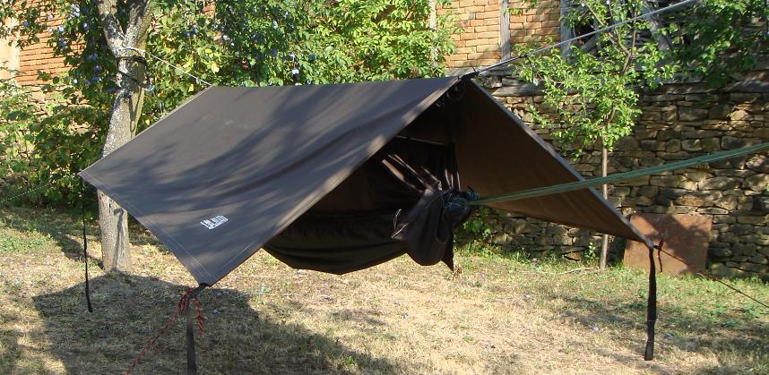 Zip-in Bivi Hammock Brown