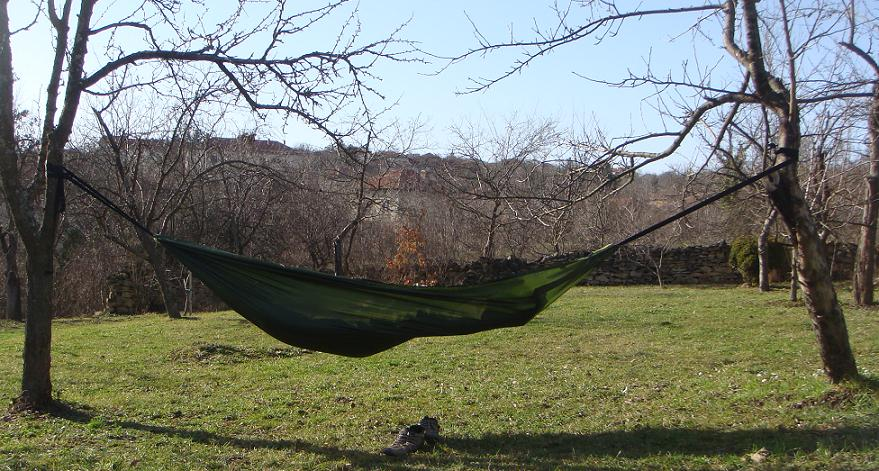 XL Ultralight Hammock 1.4 x 2.8m